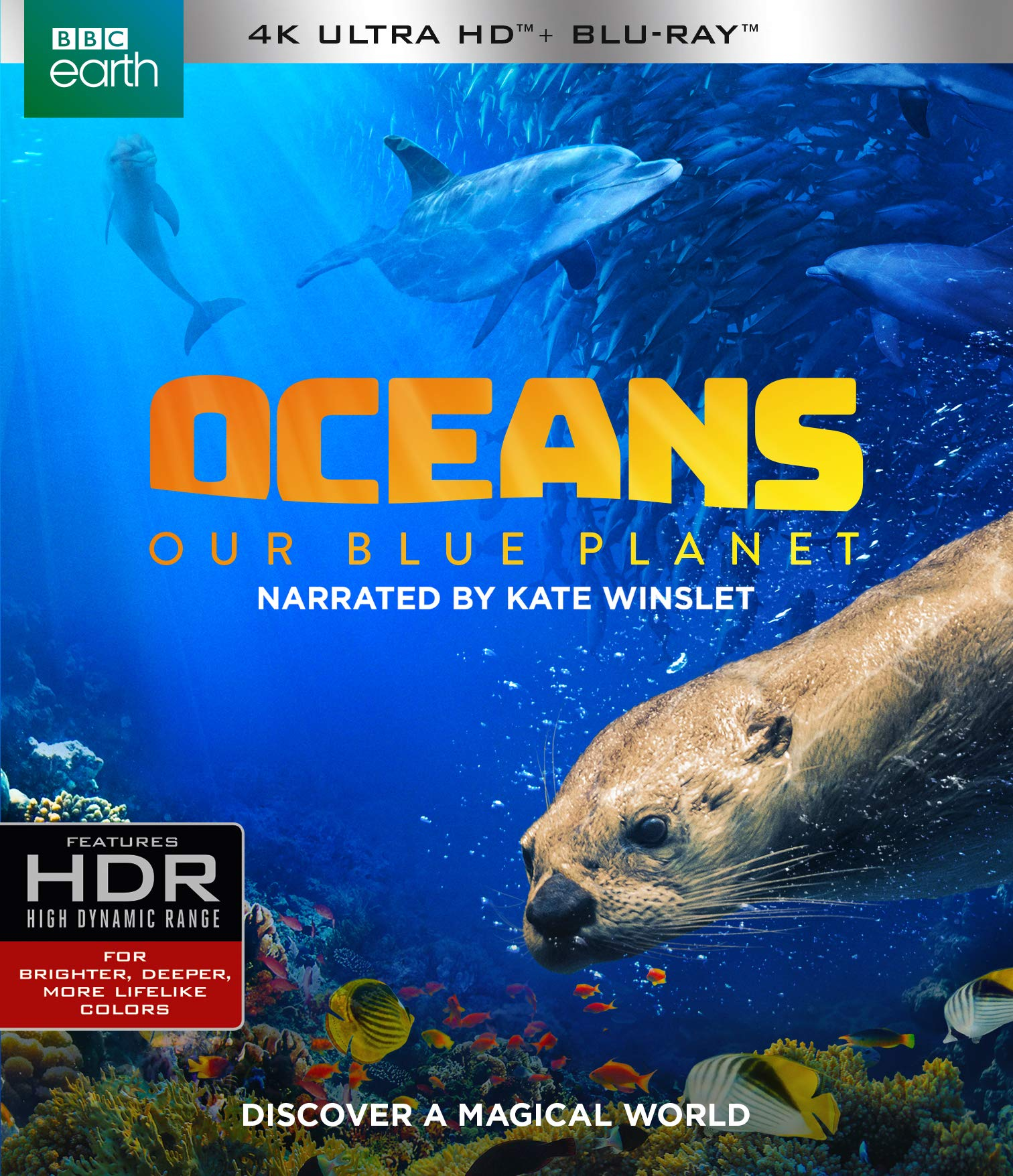 4K Blu-ray : Oceans: Our Blue Planet (With Blu-ray, 4K Mastering, Amaray Case)