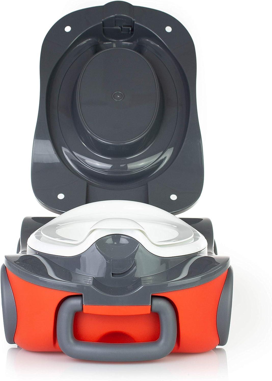 le Pot de B/éb/é pour Transporter avec le Couvercle Scellable Luvdbaby le Pot dEnfant Portable pour le Voyage Le Pot pour B/éb/é qui Rend lApprentissage de la Propret/é Amusant