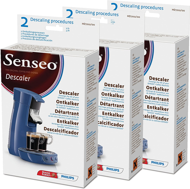 Senseo Descalcificador HD7011/00, Limpiador de Cafeteras ...