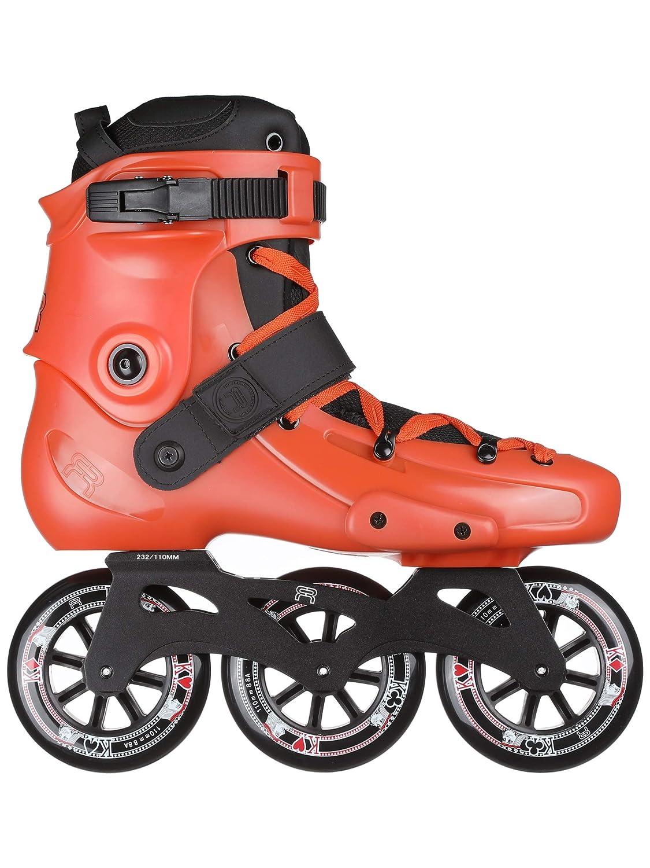 FRスケート FRX オレンジ 310 2019-3 ホイール スケート x 110mm ホイール - インラインスケート 高速アーバンスケート フリーライド シティスケート 高速レクリエーション用 人気のフレンチブランド。  M US 7 / EU39