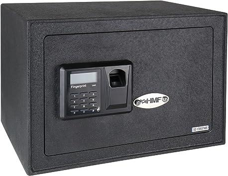 HMF 49122 Caja Fuerte Escaneo de Huellas Dactilares, Cierre ...