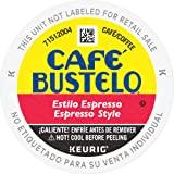 Café Bustelo Espresso Style Dark Roast Coffee, 128 Keurig K-Cup Pods