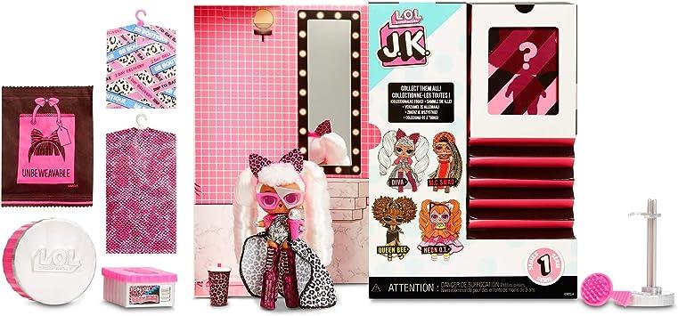 2020 LOL Surprise JK Diva Mini OMG Fashion Doll Real Hair Lady