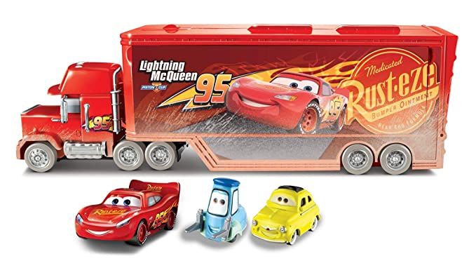 Amazon.com: Disney Pixar Cars Fireball Beach Racers Mack ...