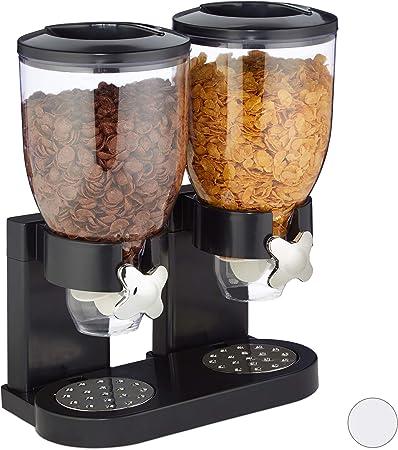 Articolo da Cucina United Entertainment Black cornflakes dispenser distributore di corn flakes Attributi per la Colazione