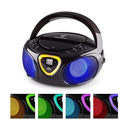 20 opinioni per auna Roadie boombox compatta radio portatile stereo con lettore CD (dispositivo