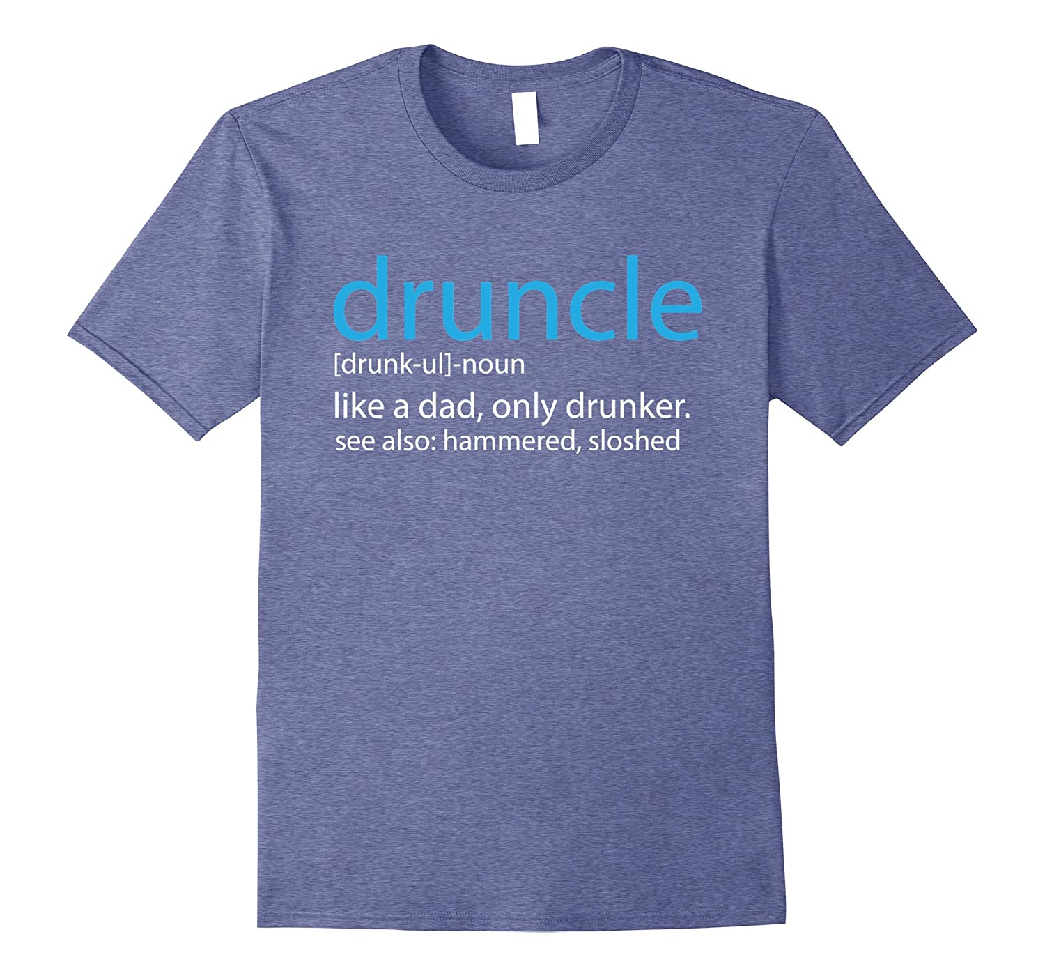 4b54daa31 Amazon.com: Funcle Druncle Definition Funny Shirt Gift For Uncle Tee:  Clothing