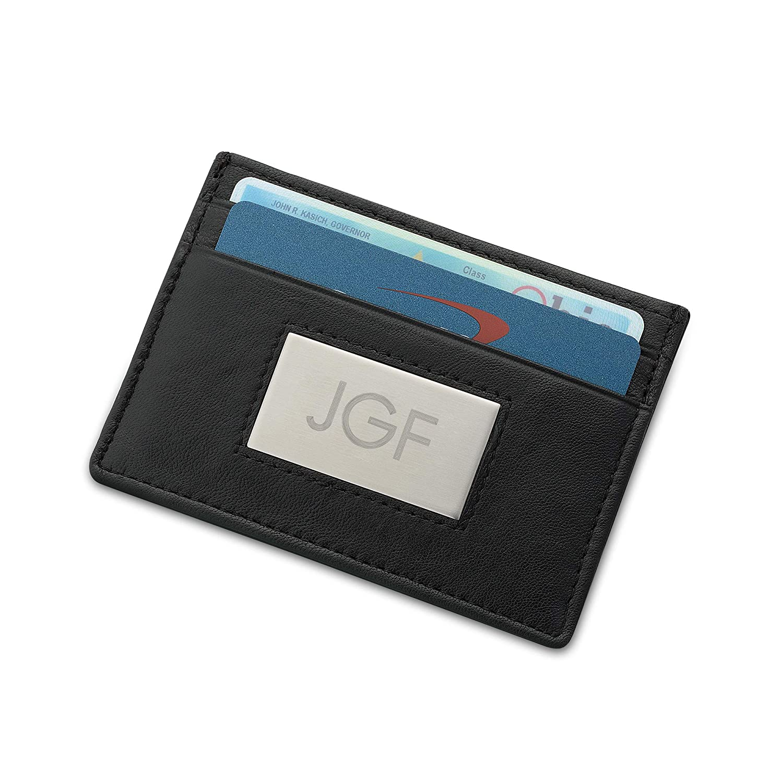 Flag Background Custom Leather Bi-Fold Wallet Distressed U.S