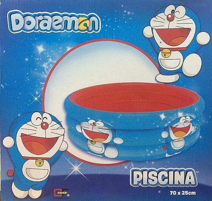 Atosa Bañera hinchable Piscina inflable para bebe niños DORAEMON ...