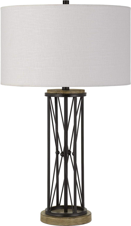 Cal Lighting BO-2858TB Transitional Rare One Fashionable Sa Lamp from Table Light