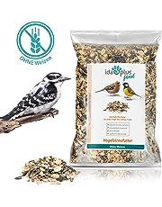 Ida Plus - Vogelfutter ohne Weizen für Wildvögel & Vögel - Winterstreufutter - Ganzjahres-Vogelstreufutter - Wildvogelfutter - Wintervogelfutter ist Weizenfrei, Fettreich & Energiereich