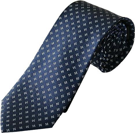 Corbata seda azul, fabricada a mano, 100% seda, el epítome del ...