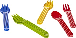 product image for Arrow Home Products, 4-Pack Fork and Spoon Sets (4 Pack), Assorted
