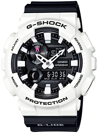 Reloj Casio G-shock G-Lide Digital numérico y virtual Analog gax-100b-7 a blanco × negro: Amazon.es: Relojes