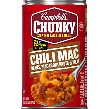 Campbell's Chunky Mac Soup 18.8-ounce Canned Chili