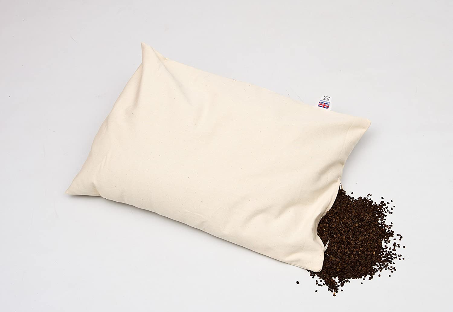 Buy Buckwheat husk pillow