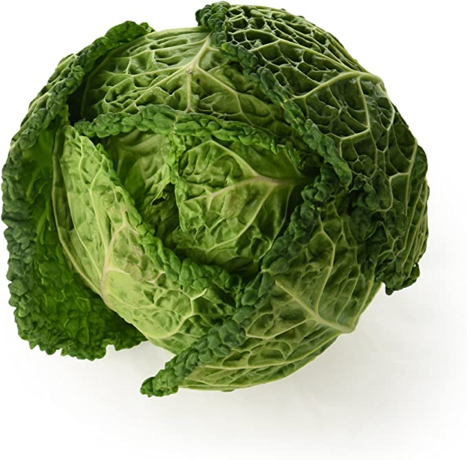 Burgess Harvest Savoy Cabbage Amazon Co Uk Grocery