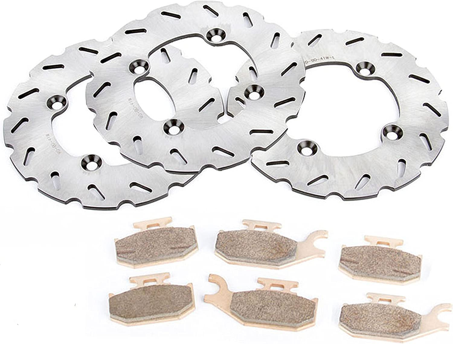 16 Sets 2012 2013 Can-Am Renegade 800 XXC 800R Front and Rear Brake Pads
