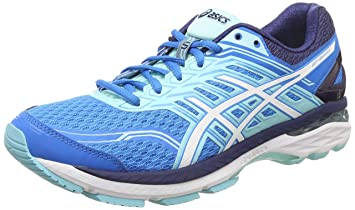 36ad270c20e2 Image Unavailable. Image not available for. Color  Asics GT-2000 5  T757N- 4301  Women Running Shoes Blue White