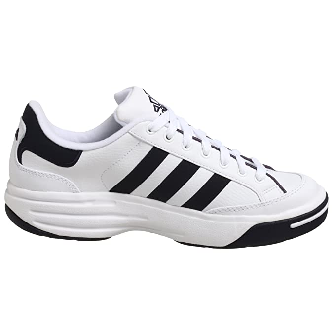 Amazon.com | adidas Mens Nastase Millenium Tennis Shoe, White/Navy, 13.5 M | Tennis & Racquet Sports