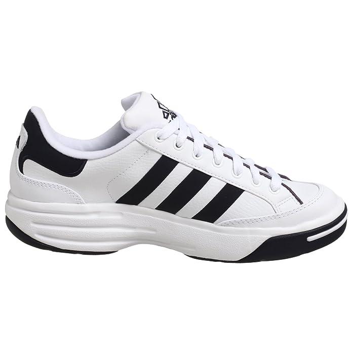 Amazon.com   adidas Mens Nastase Millenium Tennis Shoe, White/Navy, 13.5 M   Tennis & Racquet Sports