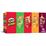 Pringles Potato Crisps Chips, Flavored Variety Pack, Original, Cheddar Cheese, Sour Cream and Onion, BBQ, 20.6 oz (15…