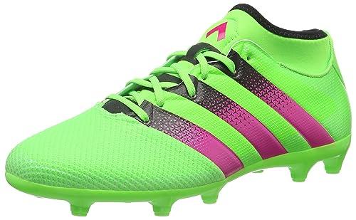 new arrival c90fc 1323a Adidas Ace 16.3 Primemesh FG, Scarpe da Calcio Uomo, Verde (Solar Green