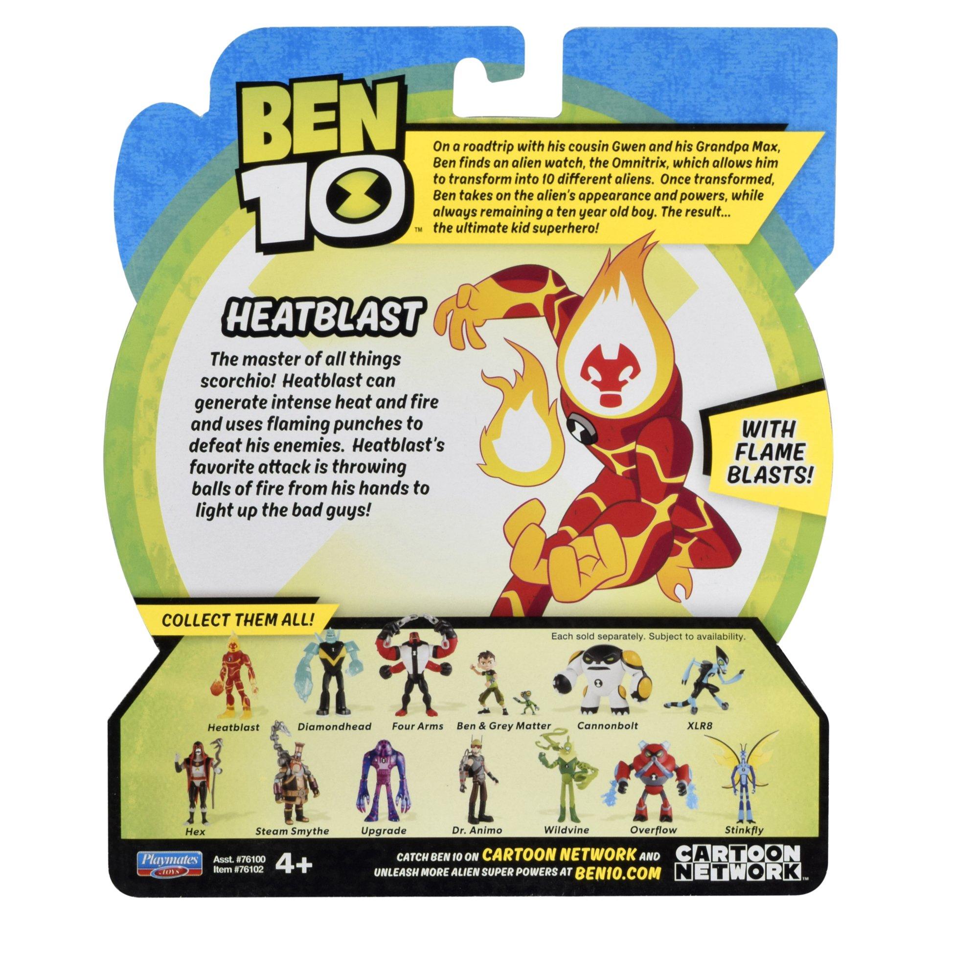 Ben 10 Heatblast Action Figure by Ben 10 (Image #5)