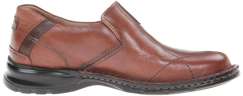Clarks Escalade - Mocasines de cuero para hombre marrón marrón, color marrón, talla 42.5: Amazon.es: Zapatos y complementos