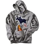 Socks on Moose Tailgater Hoodie