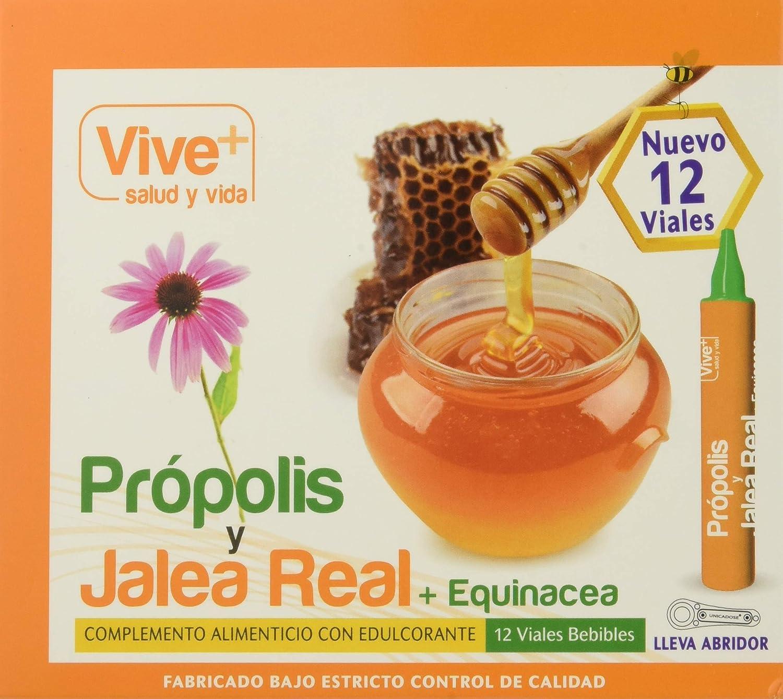 Vive+ Própolis con Jalea Real y Equinácea - 12 Unidades