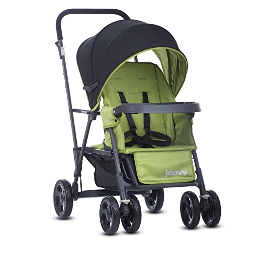 Joovy Caboose Graphite Stand On Tandem Stroller, Appletree
