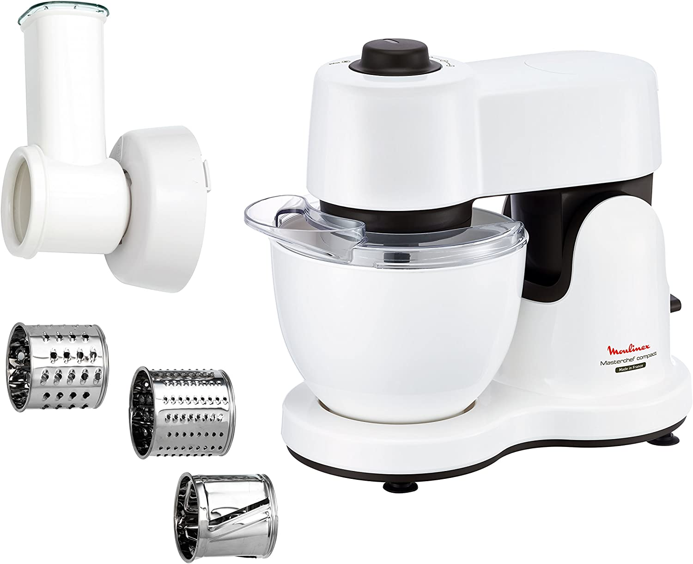 Moulinex QA2131 - robot de cocina, 700 W, blanco: Amazon.es: Hogar