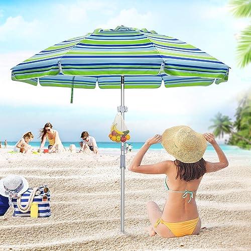 Deyard 6.5ft Beach Umbrella