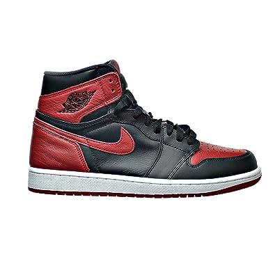 fee87f1e1dda30 Jordan Air 1 Retro High OG Men s Shoes Black Varsity Red White 555088-