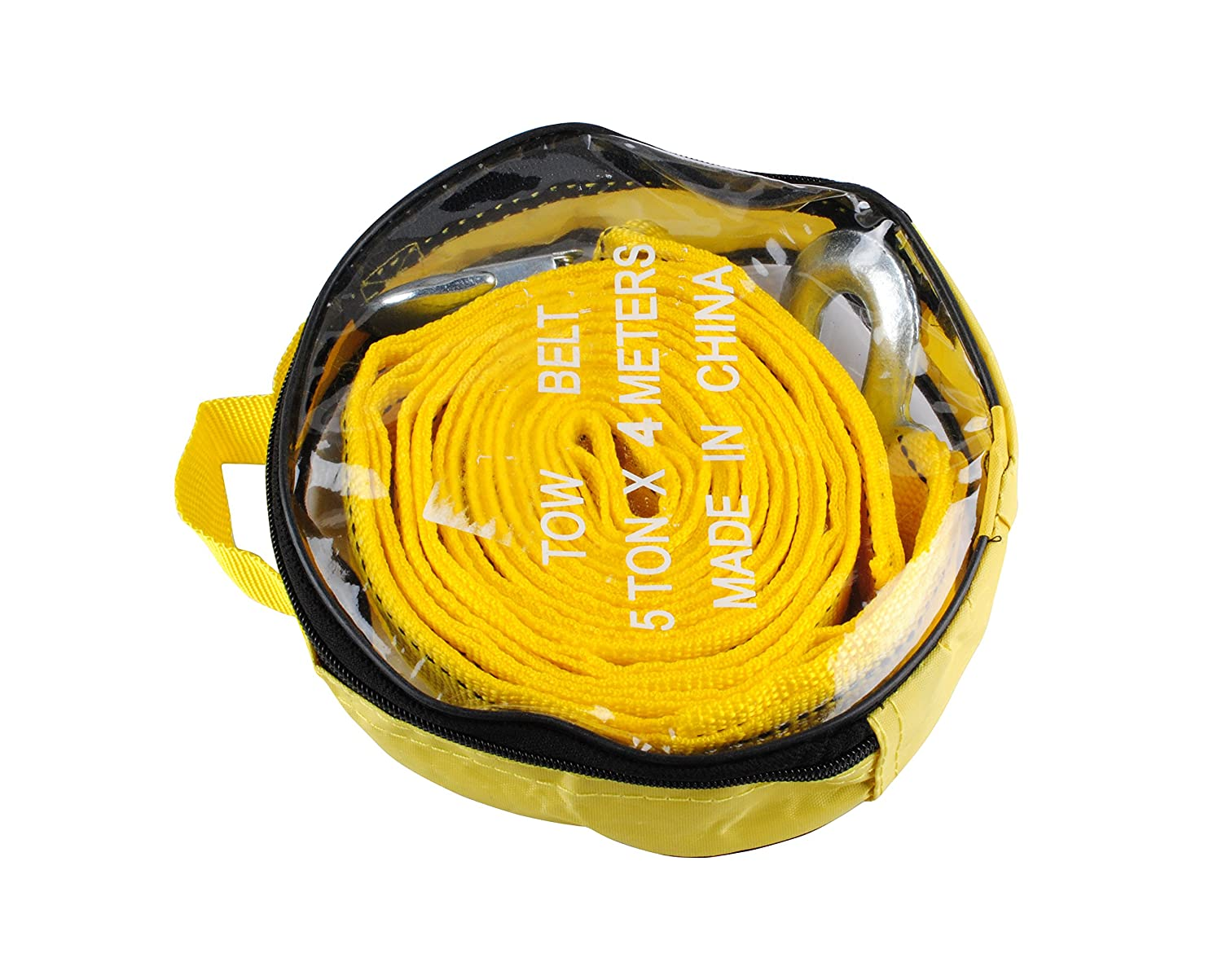 1.65 X 13 Towing Recovery Tow Rope,5 Ton Polyester 11,000lb Tow Rope