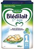 Blédina - Blédilait 1er âge - 0 à 6 mois - Lot de 3x900 g