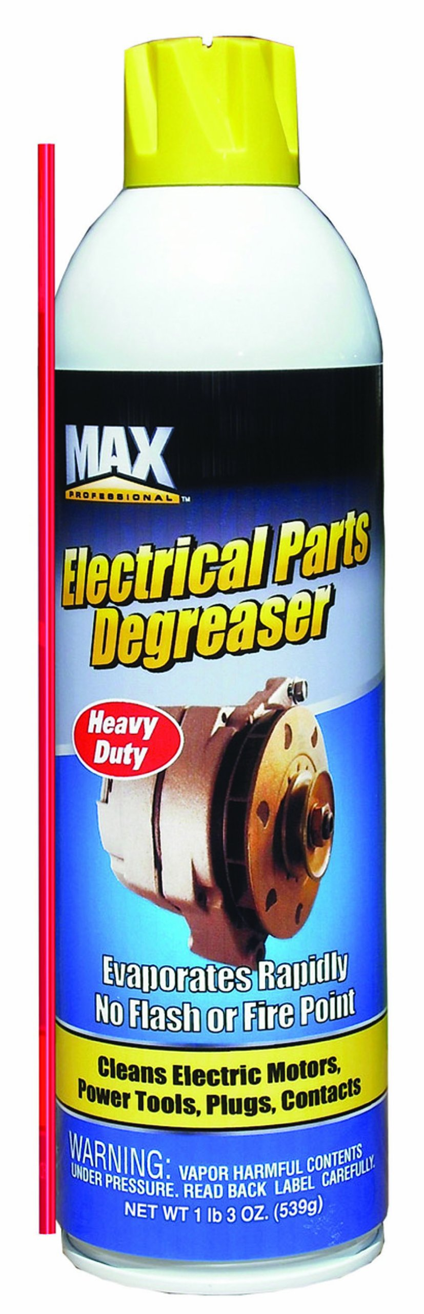 Max Professional 2121 Electrical Parts Degreaser - 19 oz.