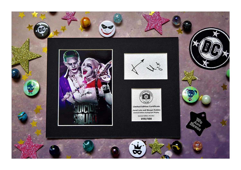 Jared Leto Signed Mounted Photo Display