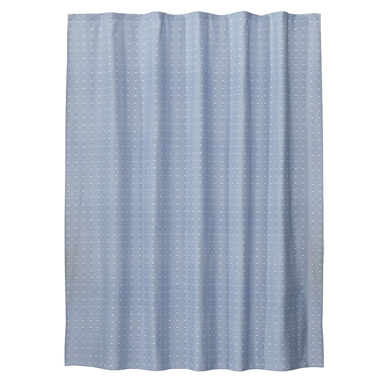 SKL Home by Saturday Knight Ltd Swag Circles Fabric Shower Curtain Blue