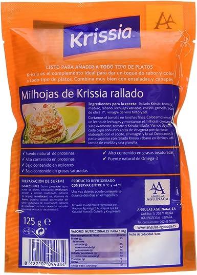 Krissia - Milojas rallado de Krissia - 125 g