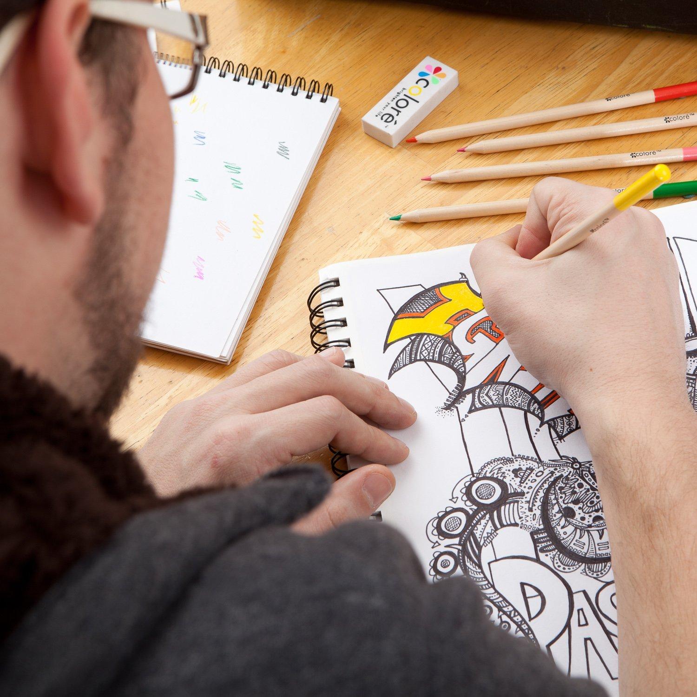 Amazon.com: Colored Pencils Pre-Sharpened Colored Pencil Set with ...
