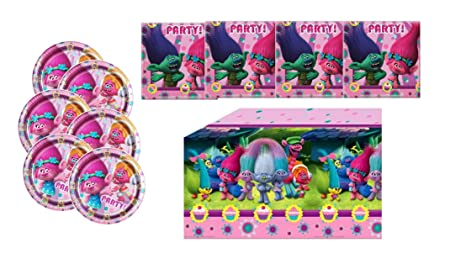 DreamWorks Trolls - Niños Fiesta/Cumpleaños/Trolls Juego ...