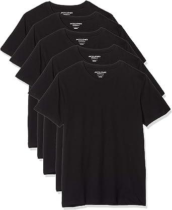 Jack & Jones Camiseta (Pack de 5) para Hombre: Amazon.es: Ropa y accesorios