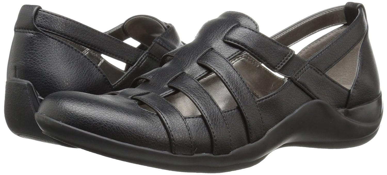LifeStride Frauen Geschlossener Gleit Zeh Gleit Geschlossener Sandalen schwarz 8675fd