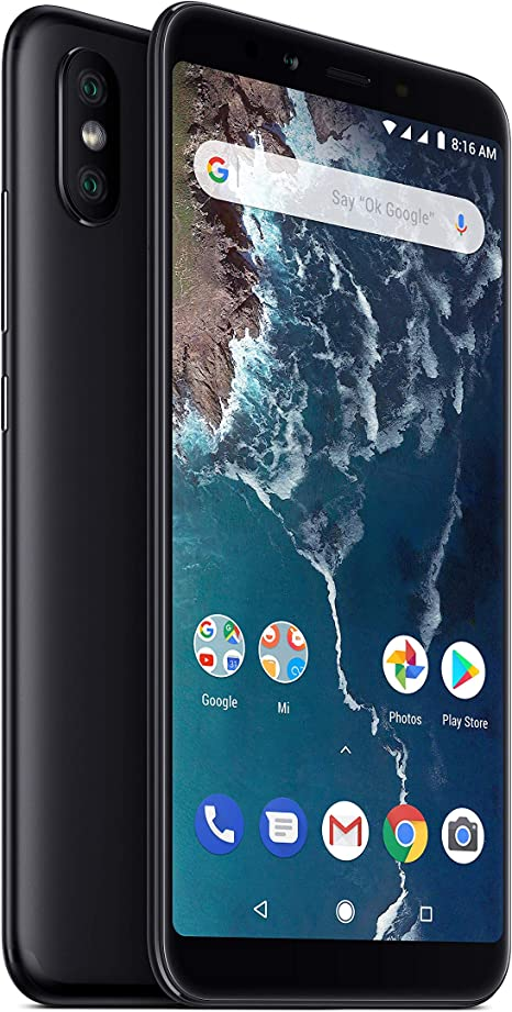 Xiaomi Mi A2-64GB 5.99-Inch Android 8.1 UK Version SIM-Free ...