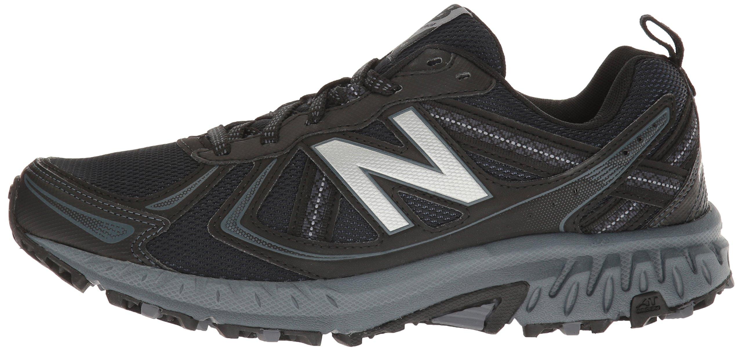 New Balance Men's MT410v5 Cushioning Trail Running Shoe, Black, 7 D US by New Balance (Image #5)