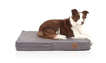 LaiFug - Cama ortopédica de Espuma viscoelástica para Mascotas y Perros con Forro Impermeable Duradero y