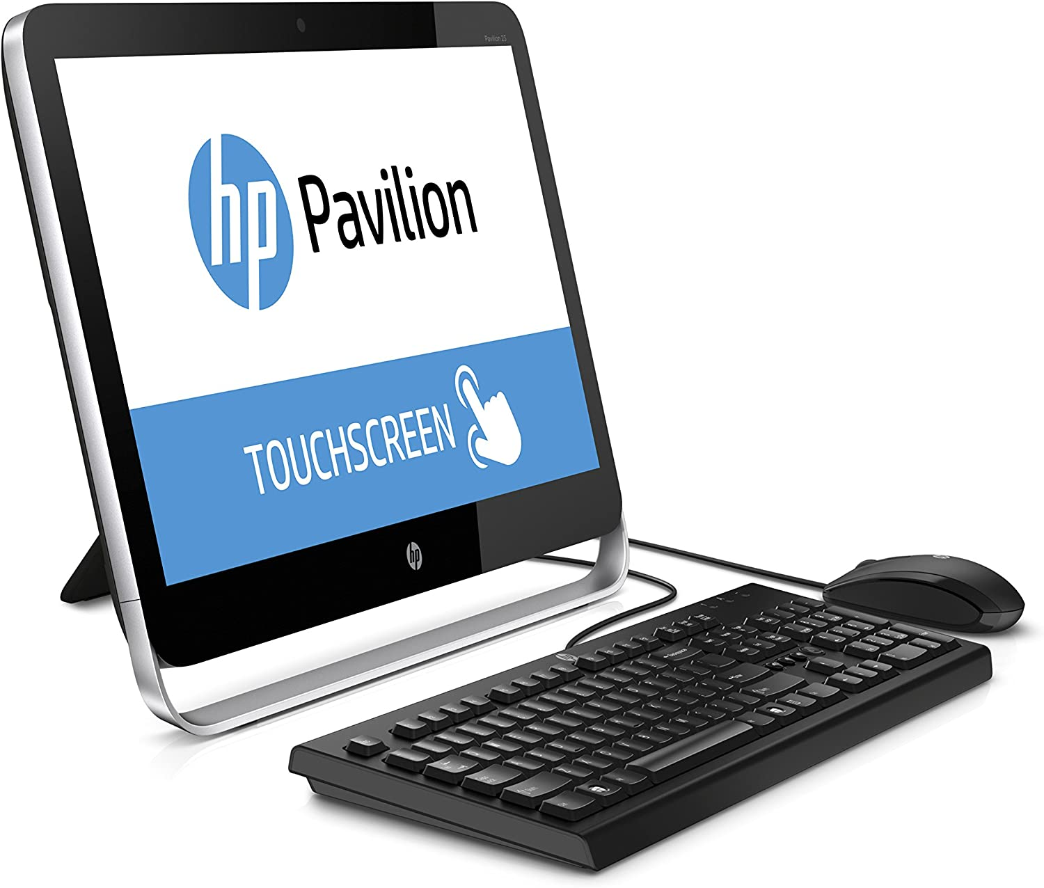 HP Pavilion 23-p110 23-Inch All-in-One Desktop (Black) (Discontinued by Manufacturer)