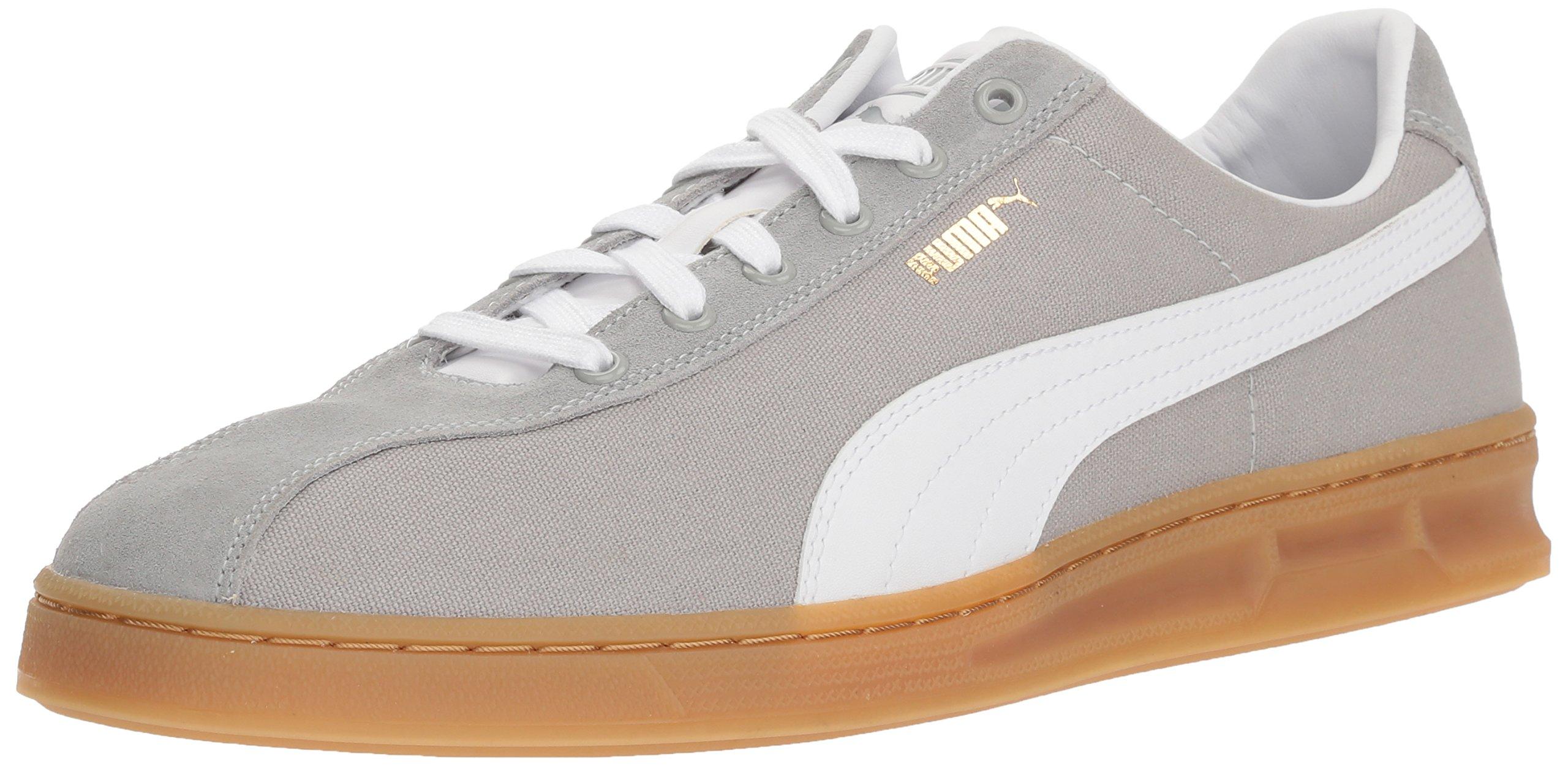 PUMA Men's TK Indoor Summer Sneaker, Quarry White, 10.5 M US